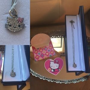 HELLO KITTY Neck Chain/Gift Box/ Hello Kitty Card